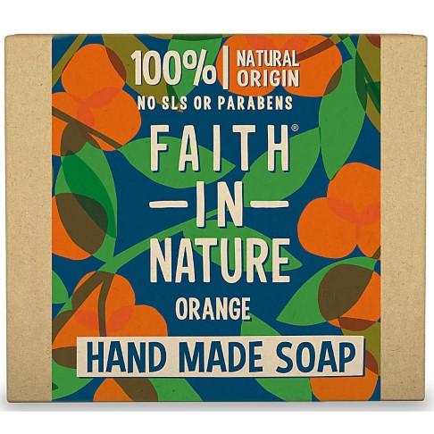 Faith in Nature Hand Made Orange Soap