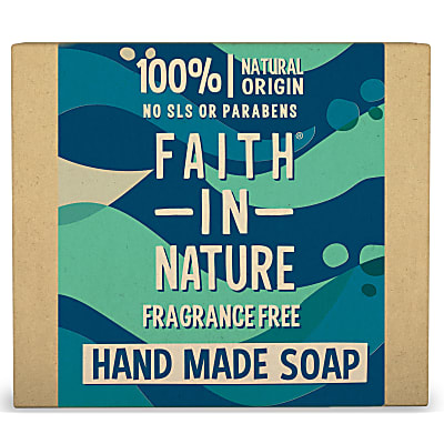Faith in Nature Hand Made Fragrance Free Soap