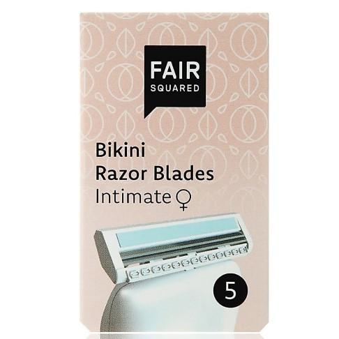 Fair Squared Bikini Razor Blade Replacement Heads