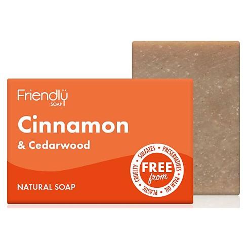 Friendly Soap Bath Soap - Cinnamon & Cedarwood