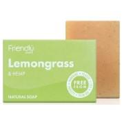 Friendly Soap Bath Soap - Lemongrass & Hemp