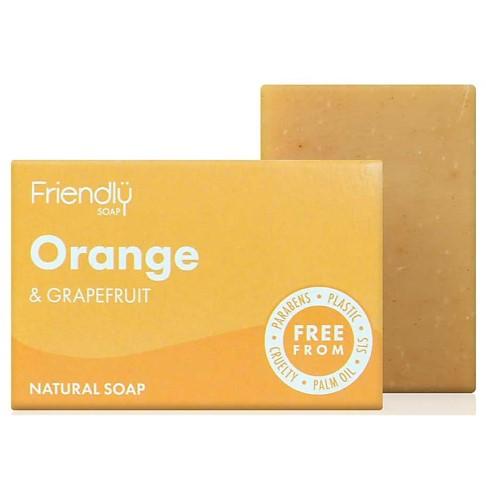 Friendly Soap Bath Soap - Orange & Grapefruit