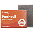 Friendly Soap Bath Soap - Patchouli & Sandalwood