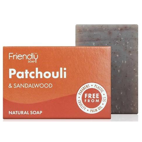 Friendly Soap Bath Soap - Patchouli & Sandalwood