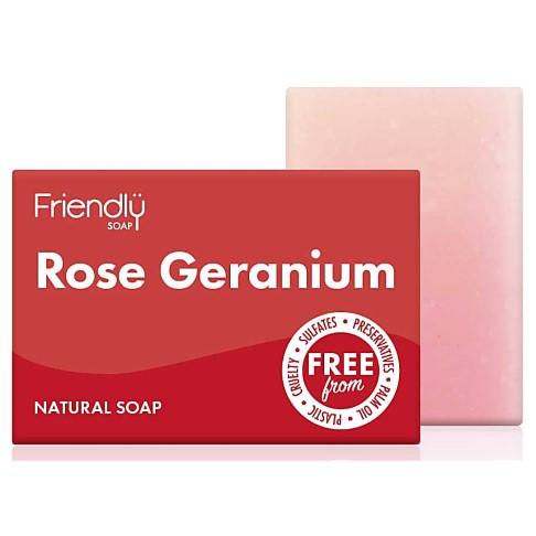 Friendly Soap Bath Soap - Rose Geranium