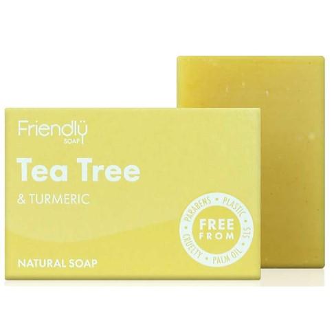 Friendly Soap Bath Soap - Tea Tree & Turmeric