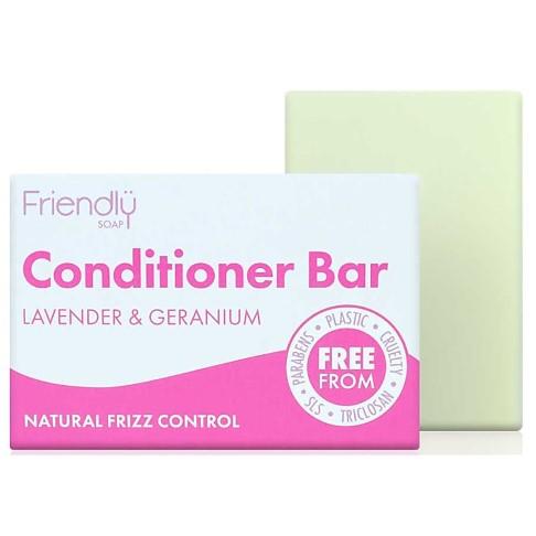 Friendly Soap Conditioner Bar - Lavender & Geranium