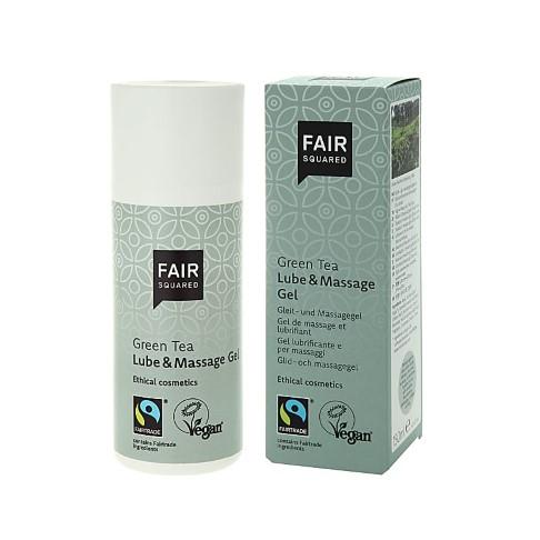 Fair Squared Lubricant & Massage Gel - Green Tea 150 ml