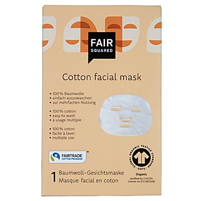 Fair Squared Organic Cotton Reusable Face Mask