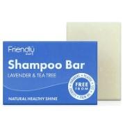 Friendly Soap Shampoo Bar - Lavender & Tea Tree