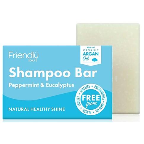 Friendly Soap Shampoo Bar - Peppermint & Eucalyptus