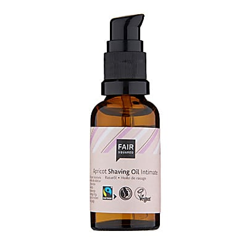 Fair Squared Apricot Shaving Oil for Women - 30ml