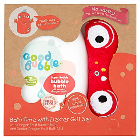 Good Bubble Bath Time with Dexter Gift Set