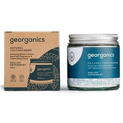 Georganics Natural Toothpowder - English Peppermint