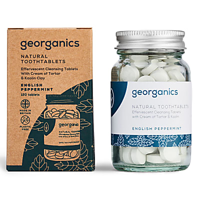 Georganics Toothpaste Tablets - English Peppermint