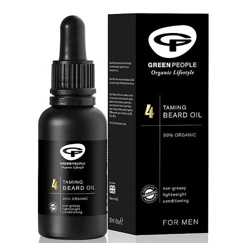Green People for Men Taming Beard Oil