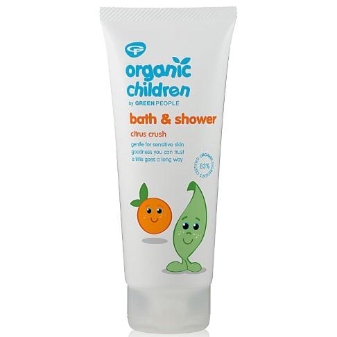Green People Organic Children Bath & Shower - Citrus Crush