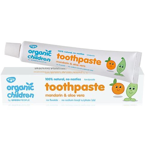 Green People Children's Mandarin Toothpaste - 50ml