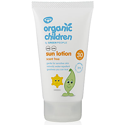 Green People No Scent Children's Sun Lotion SPF30
