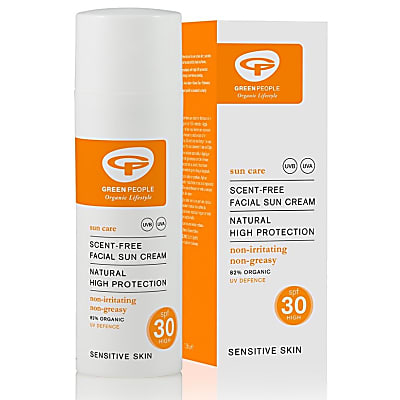 Green People Scent Free Facial Sun Cream - SPF30