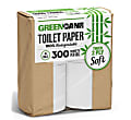 Greencane Paper Toilet Roll: 4 Pack of Sugarcane Toilet Paper