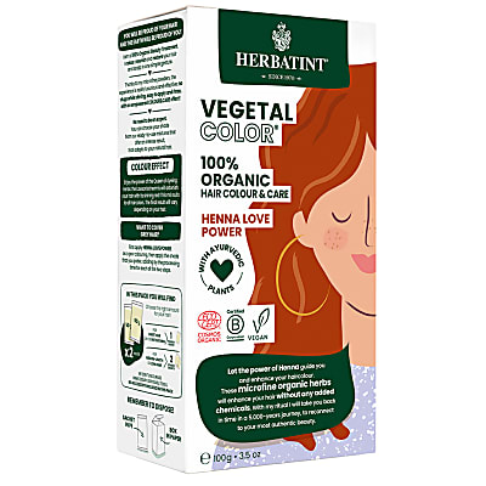 Herbatint Vegetal Hair Colour -  Henna Love Power