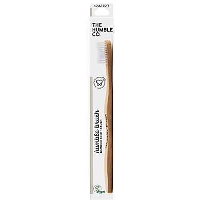 Humble Brush Adult Soft - White