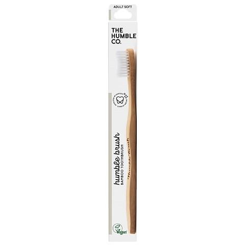 Humble Brush Adult Soft - White