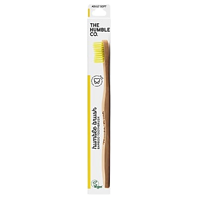 Humble Brush Adult Soft - Yellow