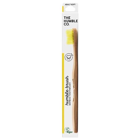 Humble Brush Adult Soft - Yellow