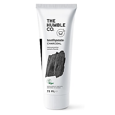 Humble Natural Toothpaste with Fluoride - Charcoal