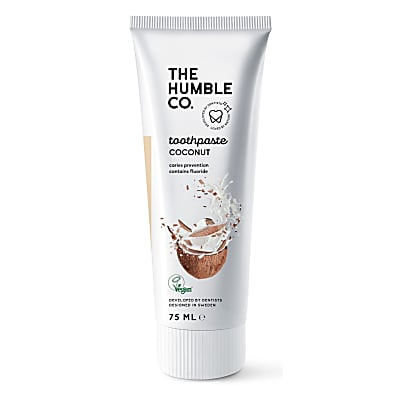 Humble Natural Toothpaste with Fluoride  - Coconut & Salt