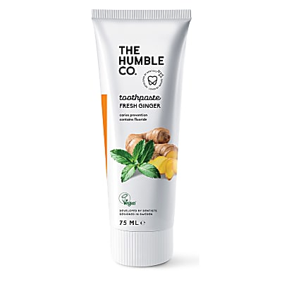 Humble Natural Toothpaste with Fluoride - Ginger