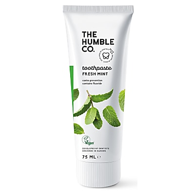 Humble Natural Toothpaste with Fluoride - Fresh Mint