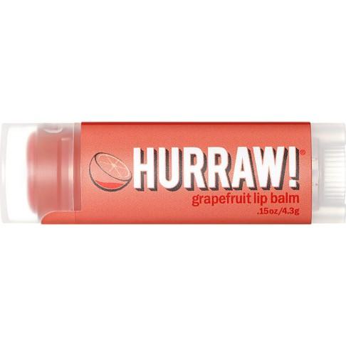 Hurraw Grapefruit Lip Balm