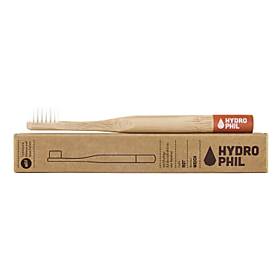 Hydrophil Bamboo Toothbrush Kids Red