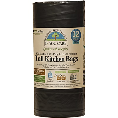 If You Care Tall Kitchen Bags - 49L