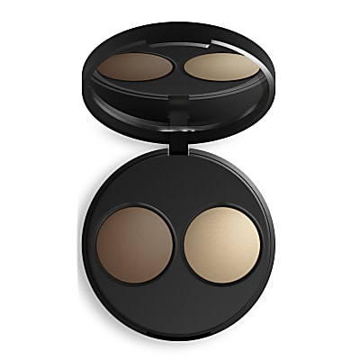 INIKA Baked Mineral Contour Duo - Almond