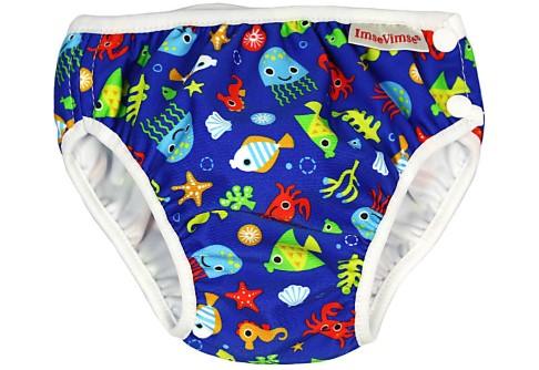 ImseVimse Swim Pants Blue Sea Life
