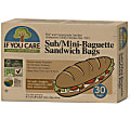 If You Care Paper Sub/Baguette bags - 30 bags