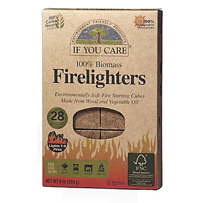 If You Care 100% Biomass BBQ Firelighters - 28