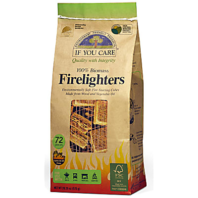 If You Care 100% Biomass BBQ Firelighters - 72