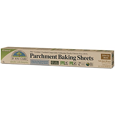 If You Care 100% Unbleached Parchment Sheets