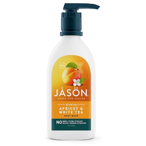 Jason Natural Body Wash - Apricot & White Tea