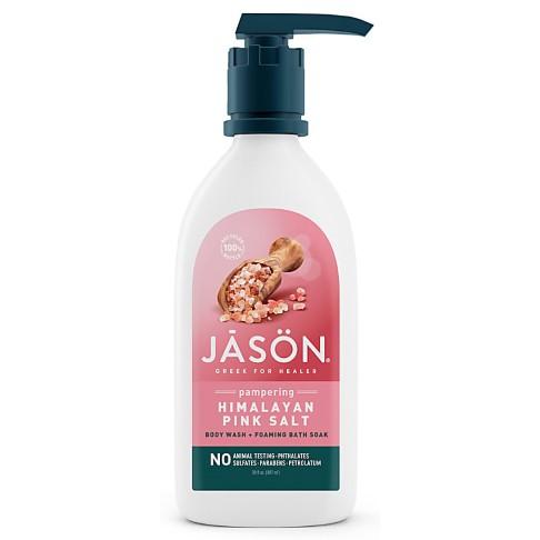 Jason Himalayan Pink Salt 2-In-1 Foaming Bath Soak & Body Wash