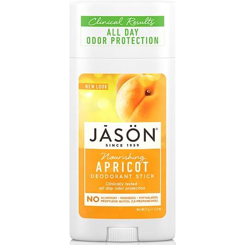 Jason Natural Deodorant Stick - Apricot