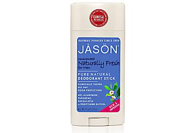 Jason Naturally Fresh Unscented Deodorant Stick for Men