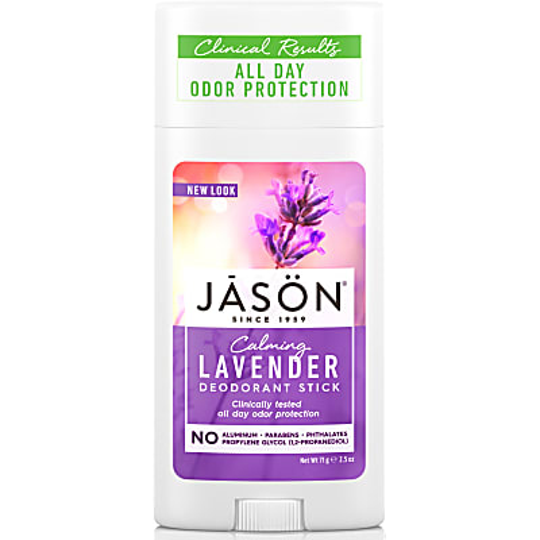 Jason Natural Deodorant Stick - Lavender
