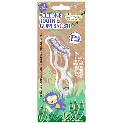 Jack N' Jill Silicone Tooth & Gum Brush