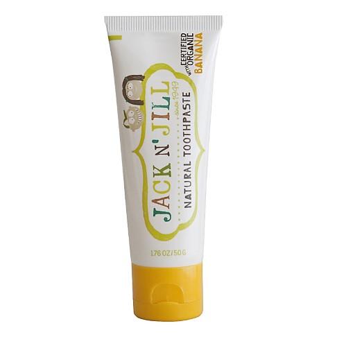 Jack N' Jill Natural Toothpaste Organic Banana